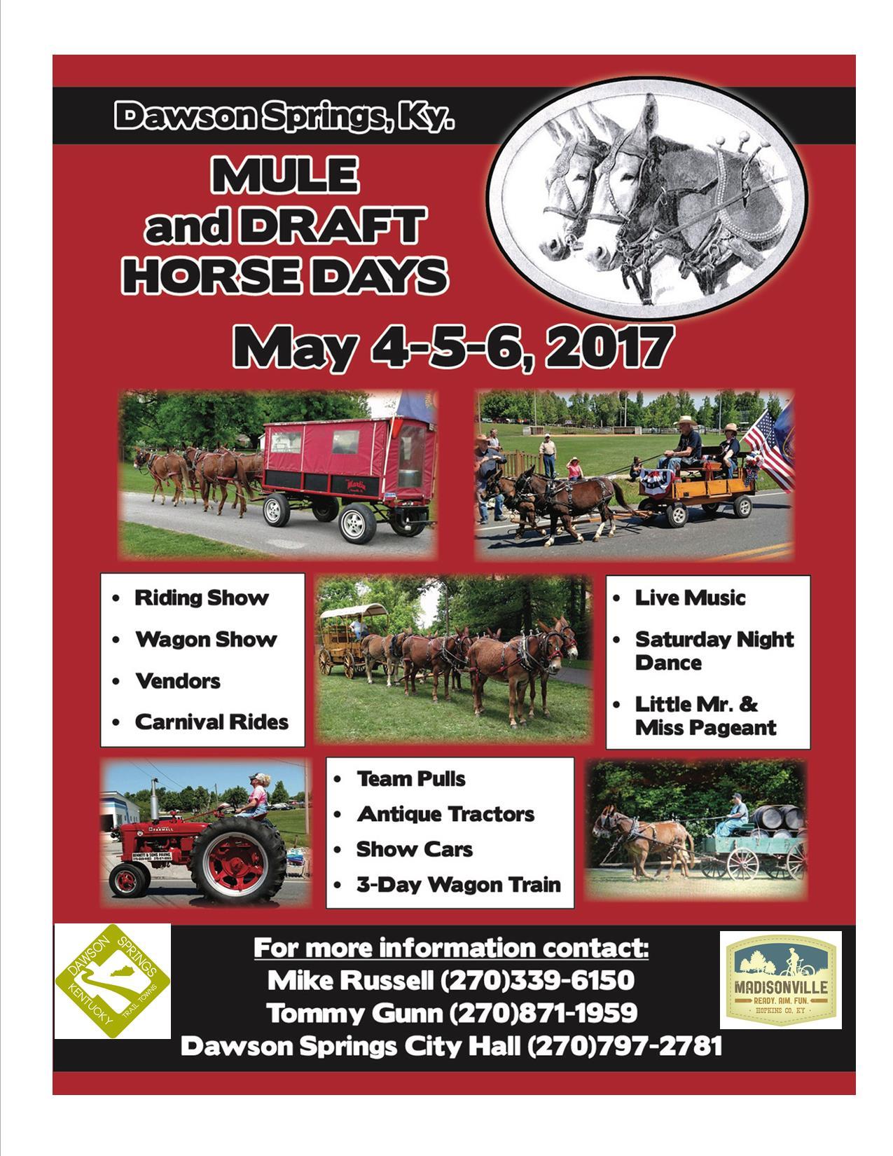 Mule days 2017 Logos
